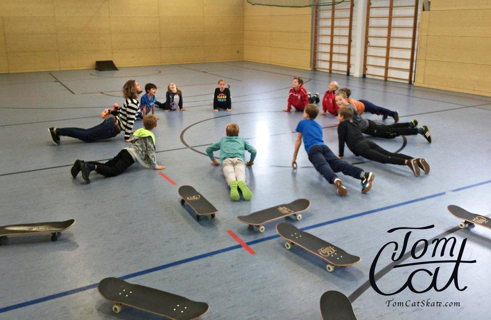 Skatekurse Landsberg am Lech Erpfting München Skateboard fahren 6.JPG