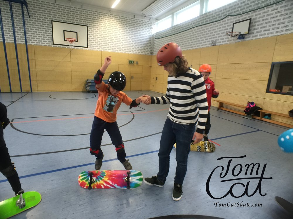Skatekurse Landsberg am Lech Erpfting München Skateboard fahren lernen 43.JPG