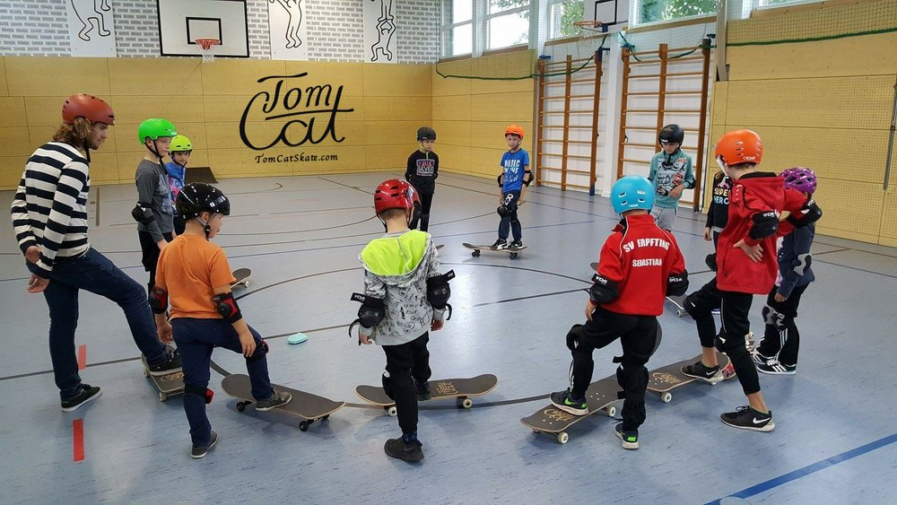 Skatekurse Landsberg am Lech Erpfting München Skateboard fahren lernen 88.JPG