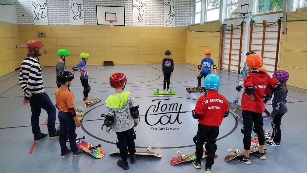 Skatekurse Landsberg am Lech Erpfting München Skateboard fahren lernen 89.JPG