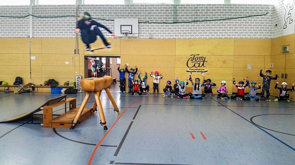 Skatekurs Landsberg Skateboardkurs München Skaten lernen Kuste Tom Cat 2.jpg