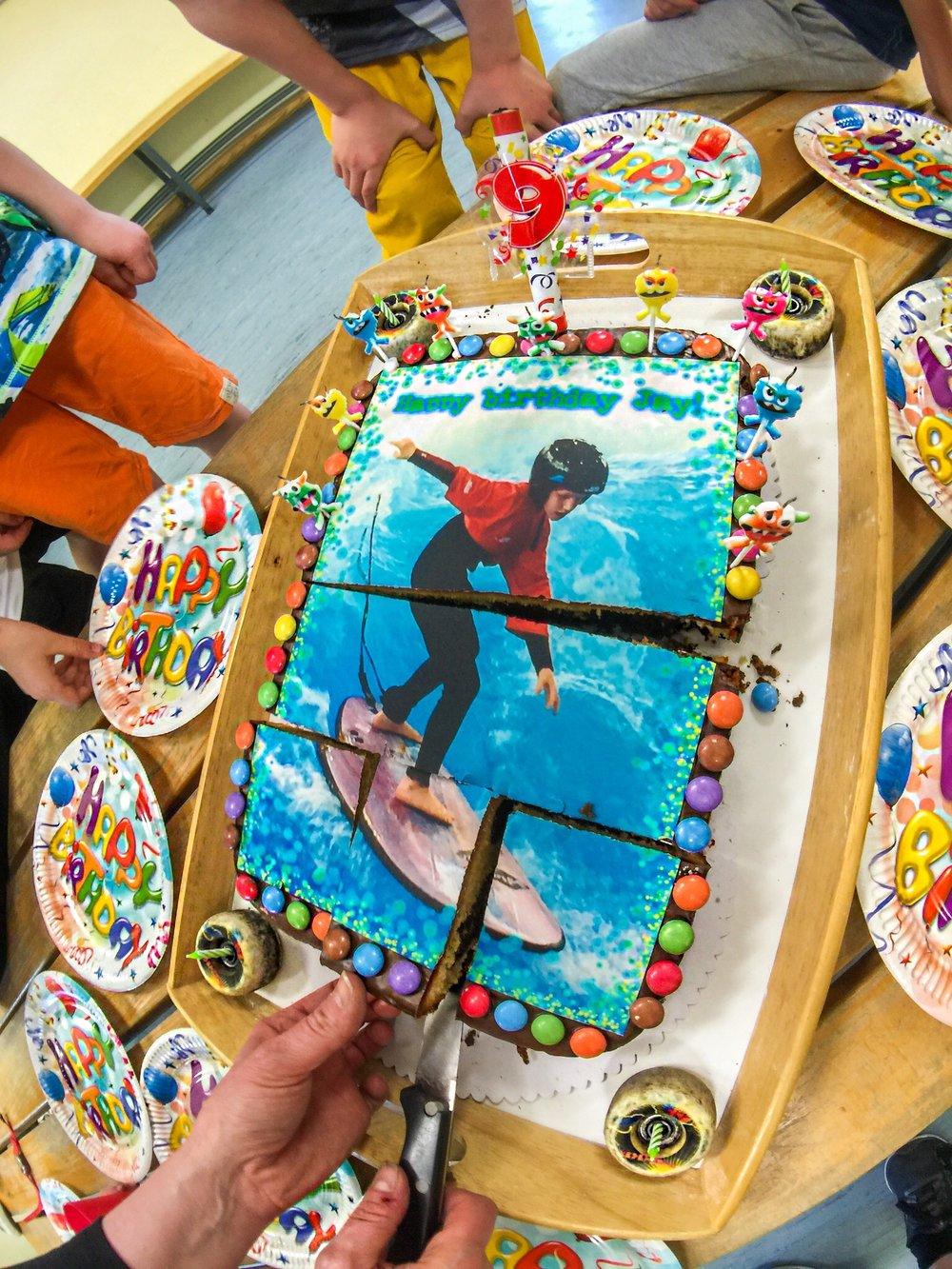 Skateboard Geburtstag Geburtstag Skatekurs Geburtstags Skateboard Kurs Geburtstagsfeier Kuchen.JPG