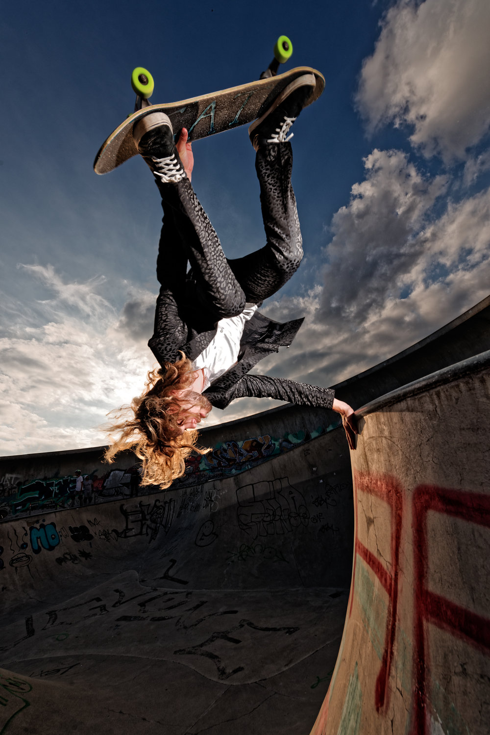 Tom Cat Skater Skateboarder München Model Skateboarding Stuntman Germany .jpg