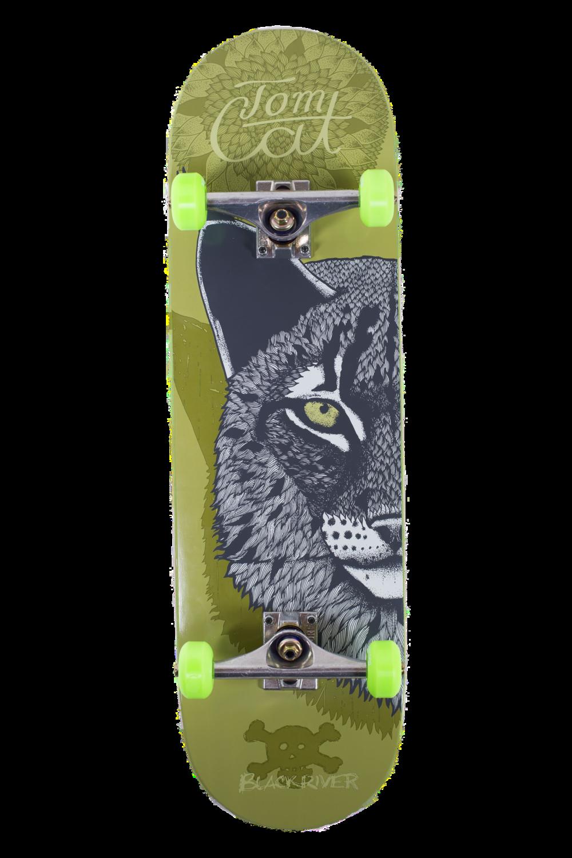 TomCat Skateboard mit Luchs Skateboard kaufen in München.png