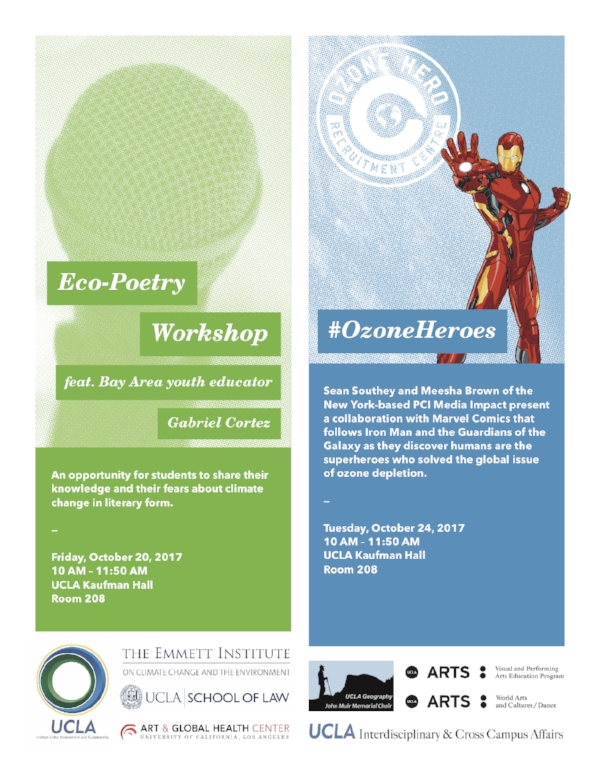 photo: eco-poetry workshop flyer