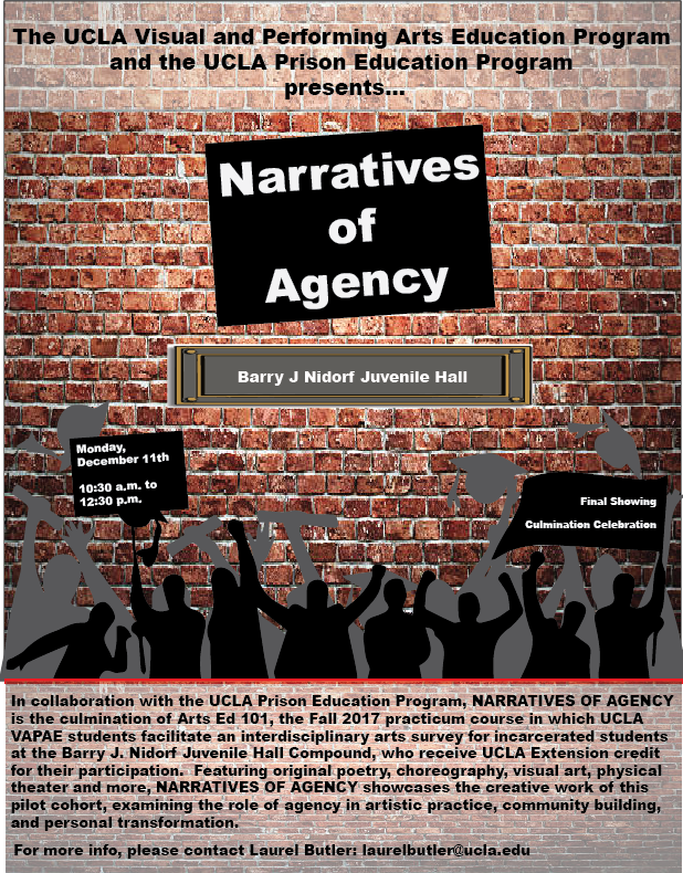 photo: narratives of agency flyer