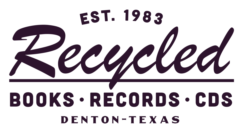 Recycled Books, Records, & CDs