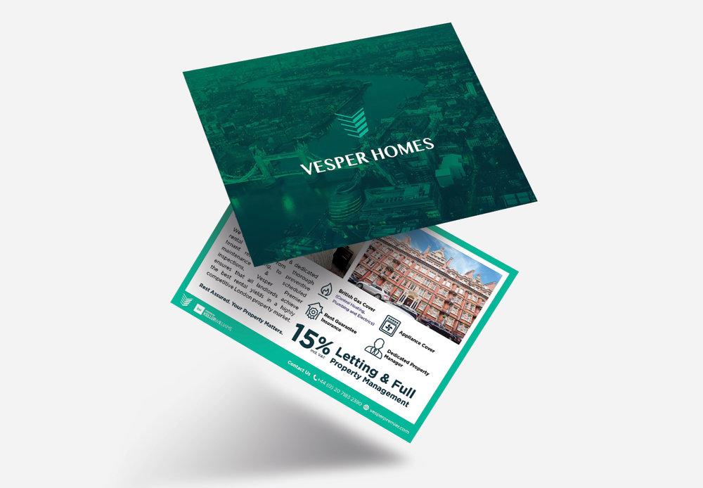 Vesper Homes Flyer