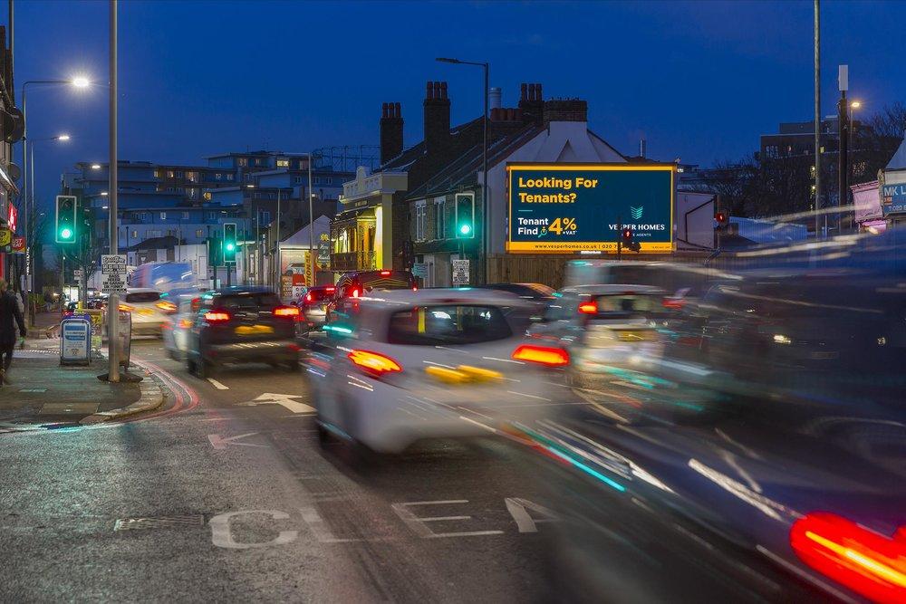 Vesper Homes - Croydon Billboard