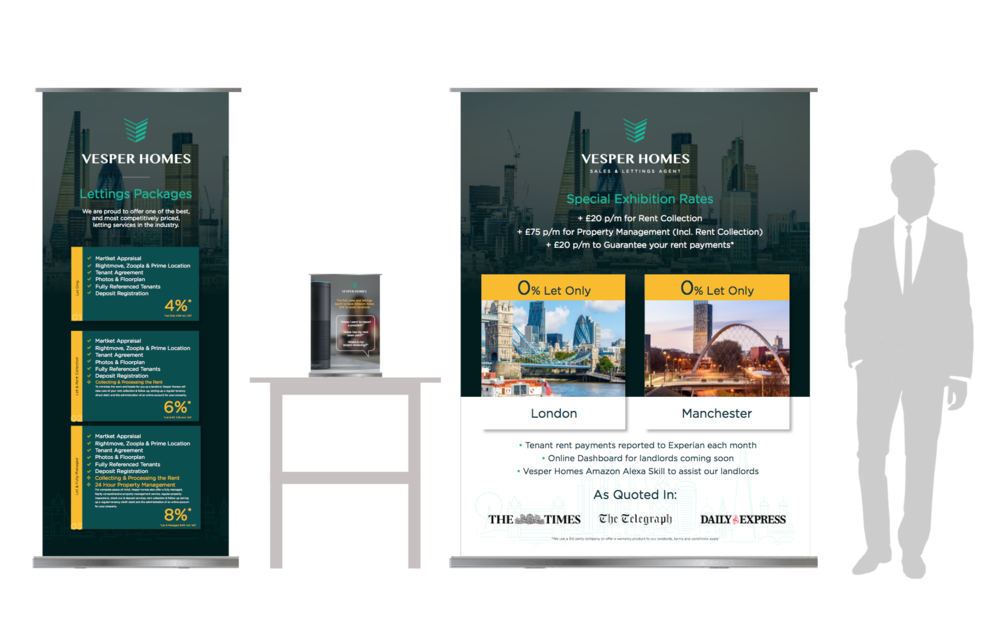 Exhibition Artwork for the National Landlord Show