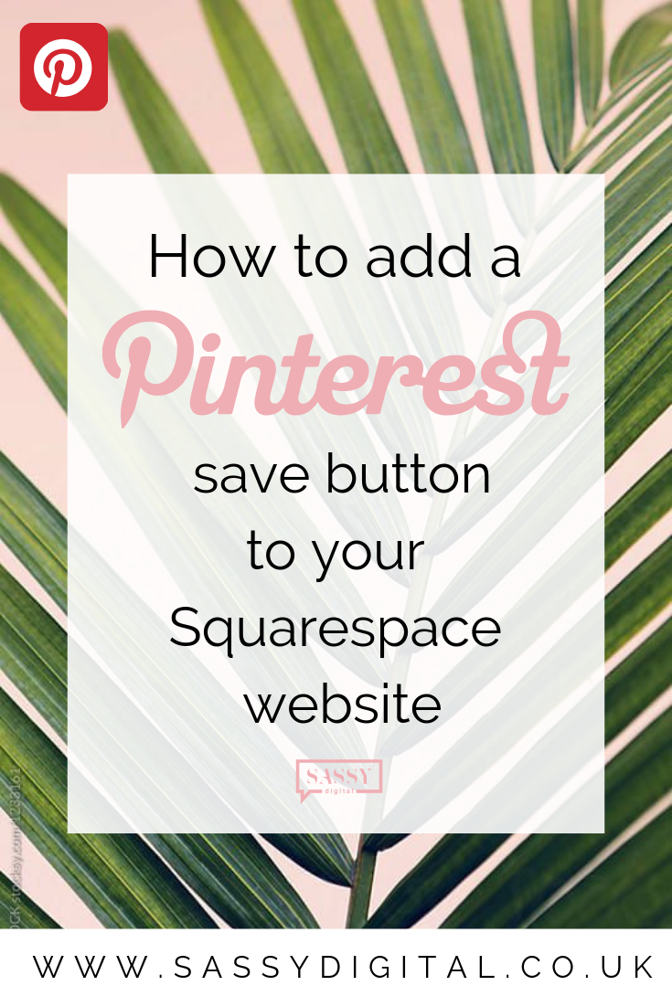 Why you should enable pinterest save buttons on squarespace