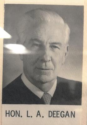 Honorable Leo A. Deegan