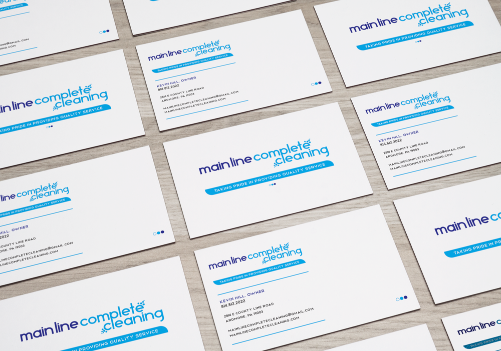 Mainline Complete Cleaning Business Cards - Darnell Lamont