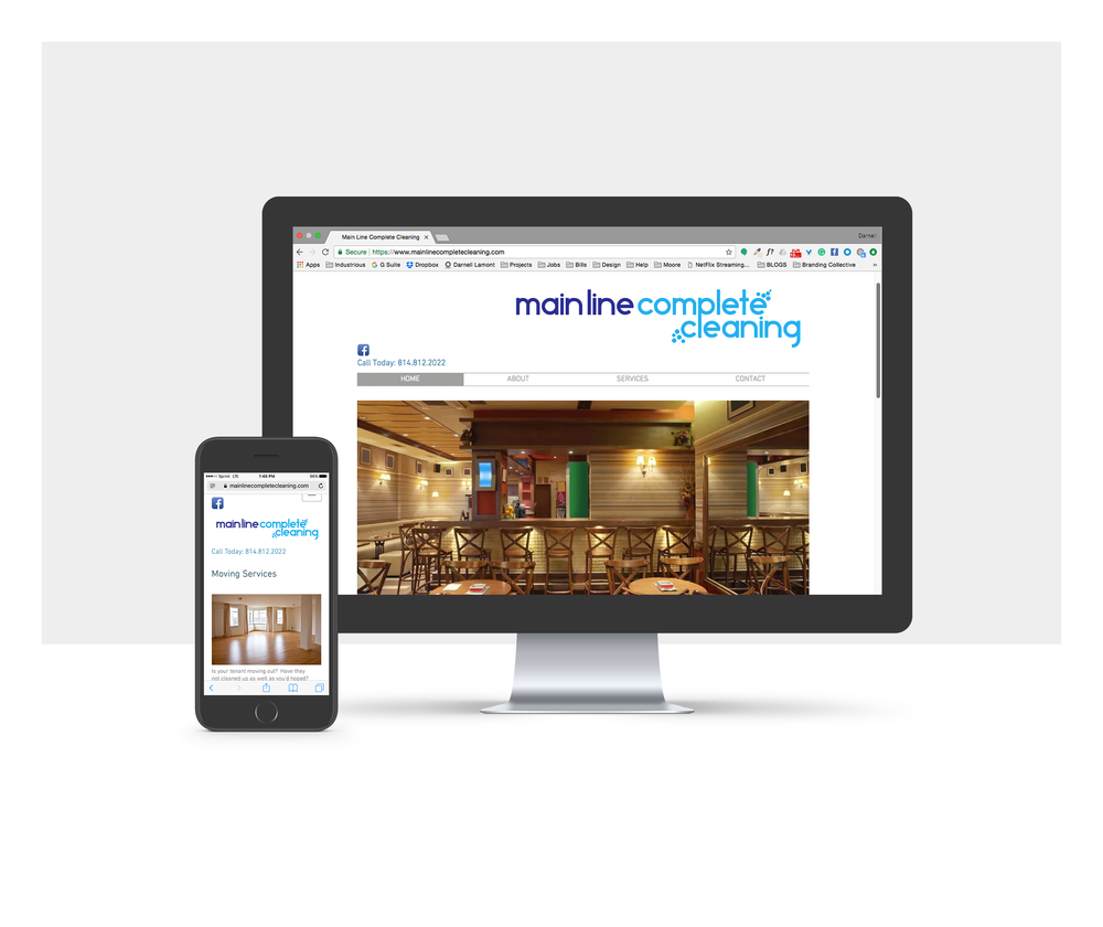 Mainline Complete Cleaning Website - Darnell Lamont