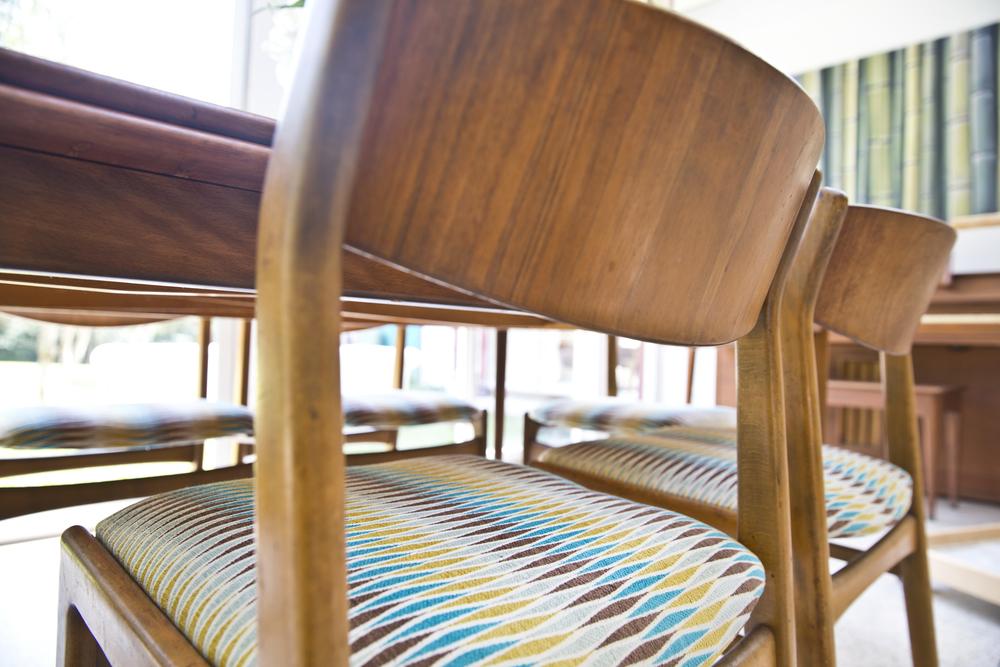 Custom Upholstery, Designer Fabric U0026 Refinishing  Liddy Residence