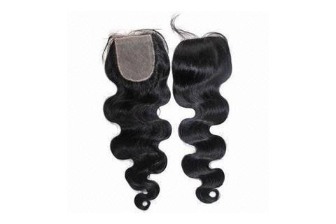 100% Pure Luxury Seamless Virgin Hair Closure