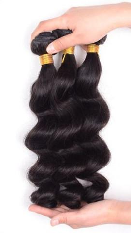 100% Pure Luxury Virgin Hair Extension Bundles