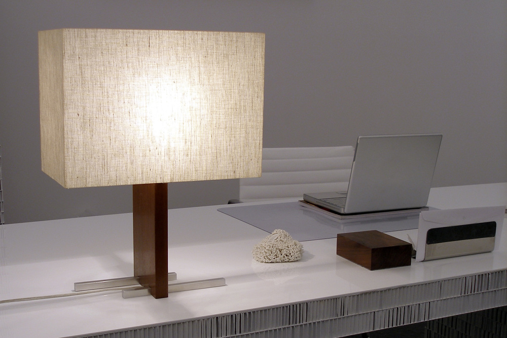 Ludwig and larsen rectangle table lamp