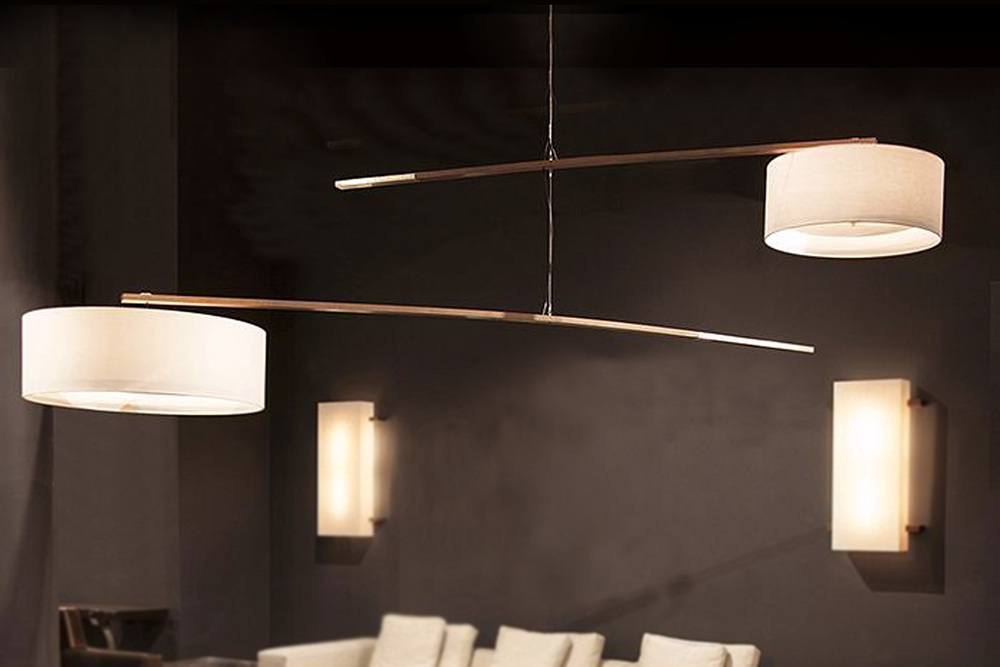 Ludwig and Larsen Parker Mobile Hanging Lamp