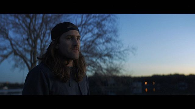 Blue hour natural lighting test. Marble Falls, 2019. Anamorphic.