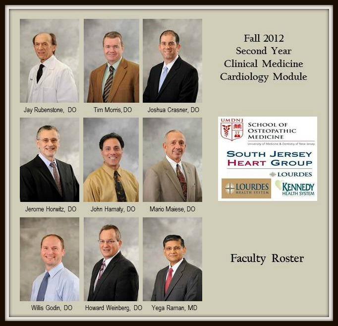 Second Year Module Faculty Roster