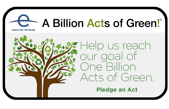 A Billion Acts of Green