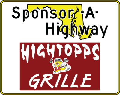 Hitopps Grille Sponsor A Highway sign