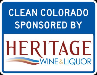 Heritage Wine & Liqour Sponsor a Highway sign