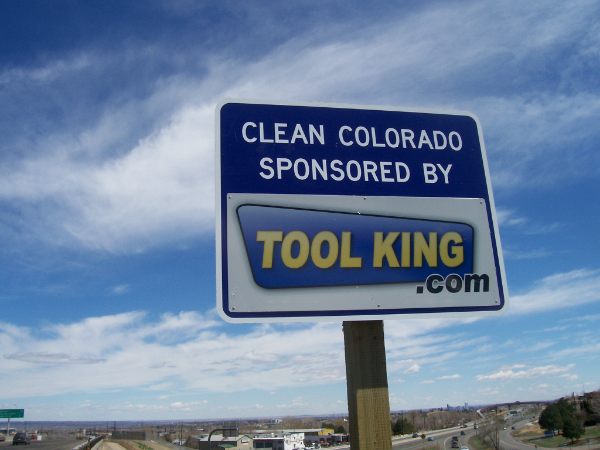 Tool King sign
