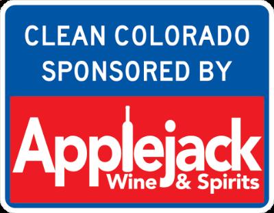 Applejack Wine & Spirits Sponsor A Highway sign