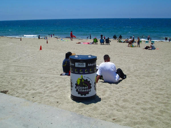 Planet fitness Adopt A Beach can