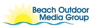 Beach Outdoor Media group logo