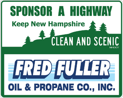 Fred Fuller Oil & Propane Sponsor a Highway sign