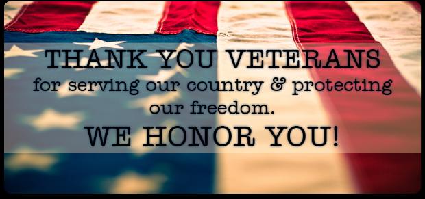 Veterans flag image