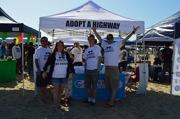 Adopt A Beach tent