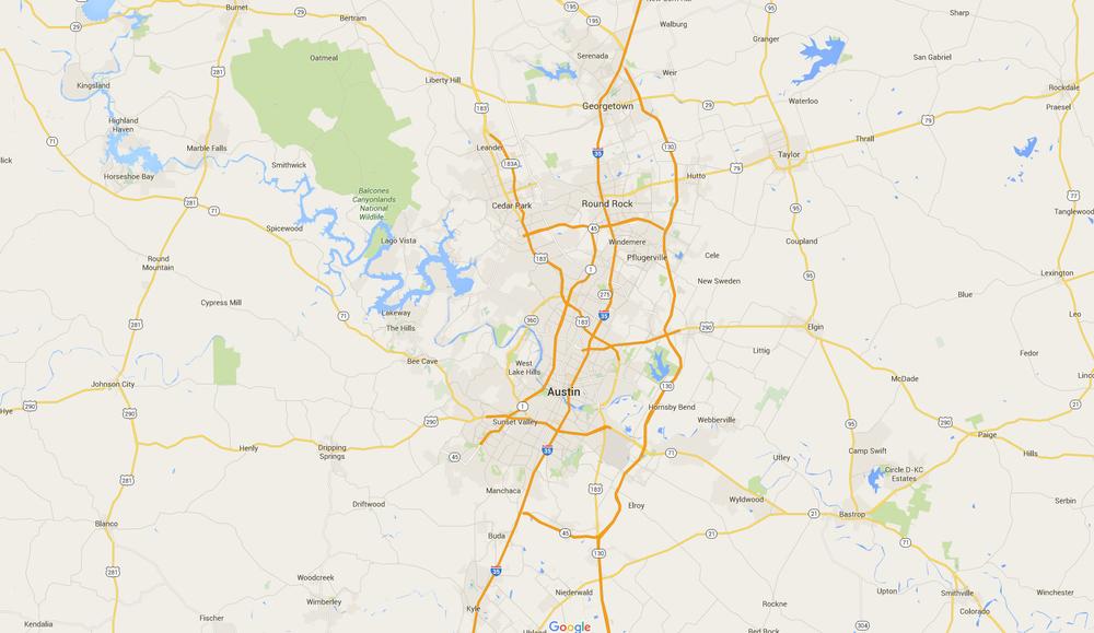 Austin Market Map