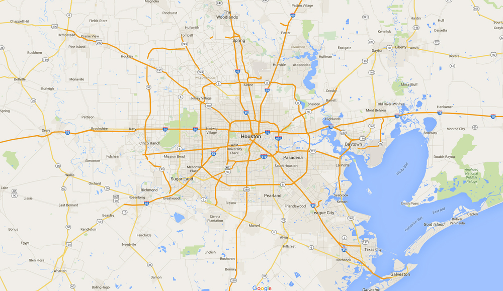 Houston Market Map