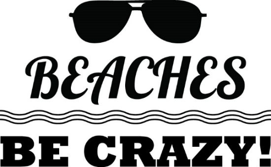 Beaches Be Crazy image