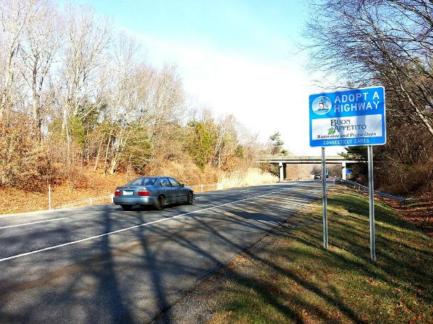 Buon Appetito Ristorante Adopt A Highway sign