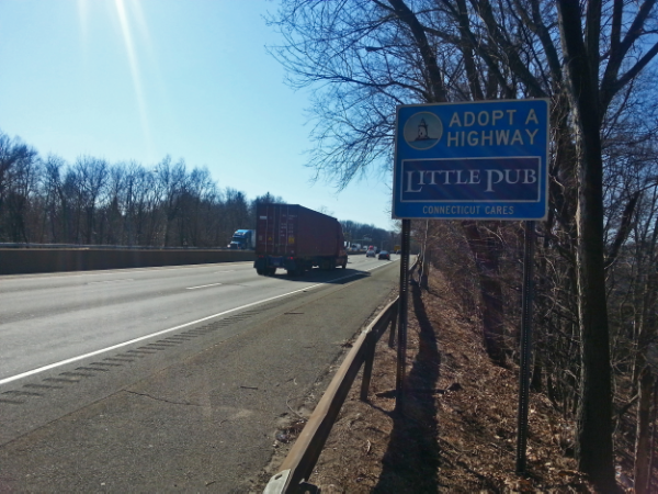 Little Pub - Connecticut Sponsor A HIghway®
