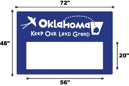 Oklahoma Sign Rendering
