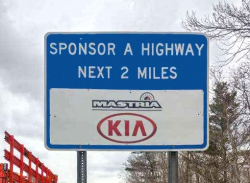 Mastria KIA Sign