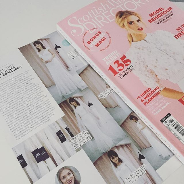 Check out this gorgeous feature for @olivejonesbridal in the new @swdmagazine - also, how amazing is this cover ❤️ • • • #Press #ClientPress #OliveJones #Feature #Placement #PR #ClientHit #BridalPR #WeddingPR #LovePR #PRGirl #SWDLoves #WeddingDress #Wedding #Brides #Love #Brands #BrandMarketing