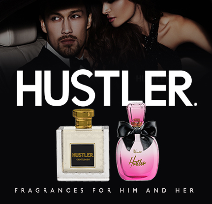 HUSTLER FRAGRANCE COLLECTION FOR HIM AND HER - Perfume line of Three district fragrances for men: Gentlemen, Fearless and Extreme.Three seductive scents for women: Diva, Muse and the Queen.