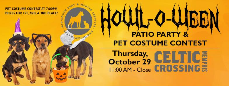 HowloWeen Mid-South Spay & Neuter Pet Costume Contest