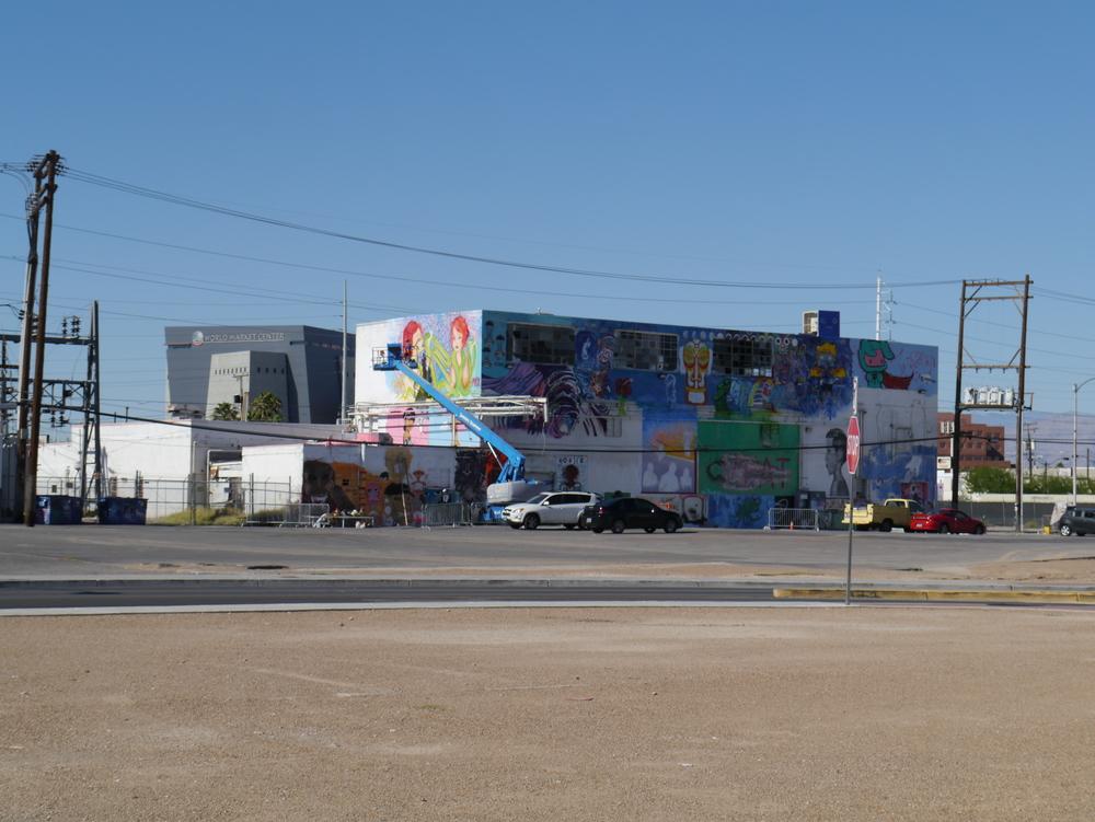 Mission Linen Building, our project place.