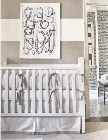 Courtney Giles' beautiful nursery