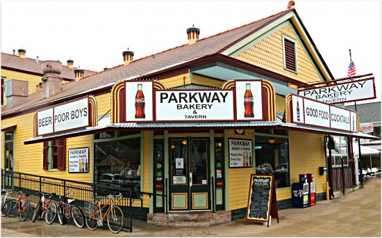The Parkway Bakery near City Park