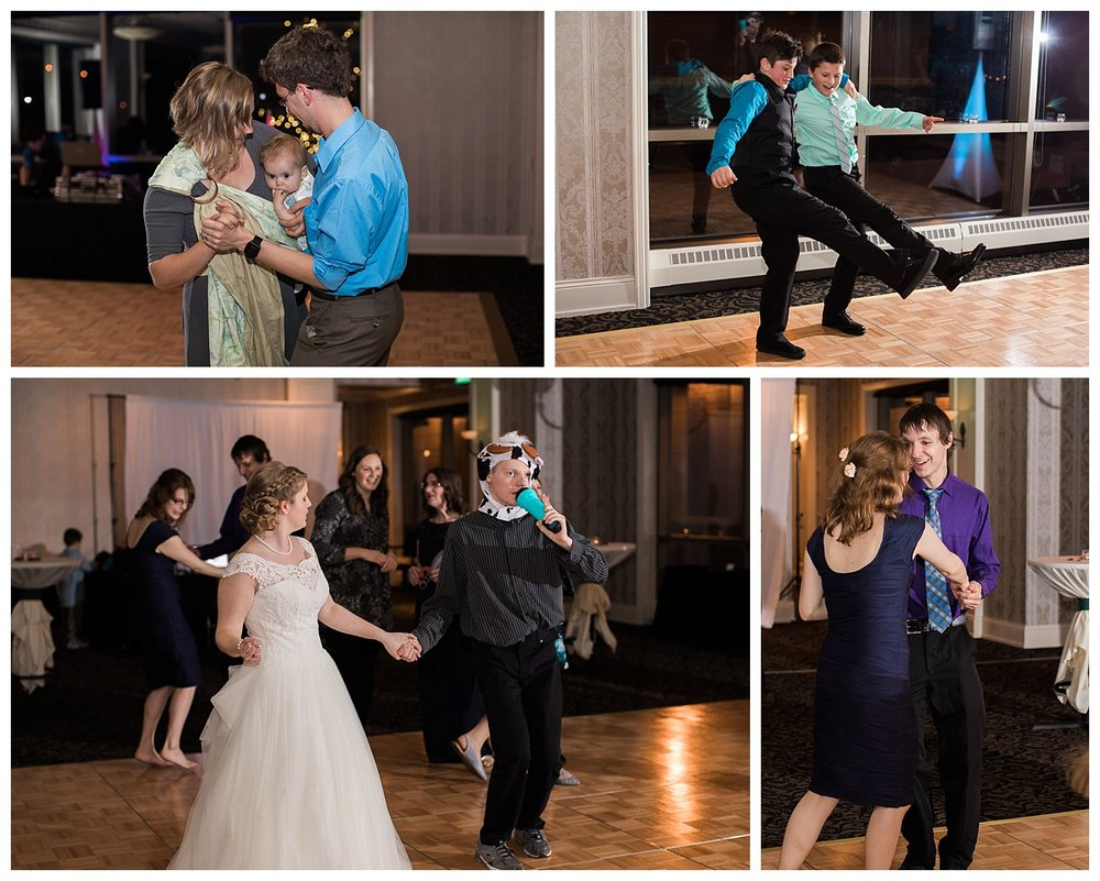The dance floor is now open!!