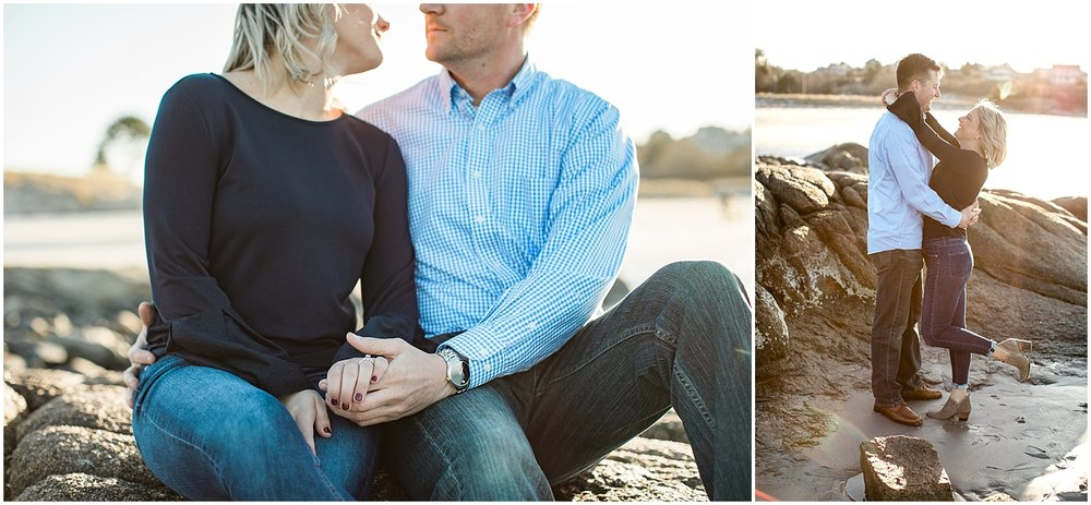 Alyssa Parker Photography Beach Engagement Photos